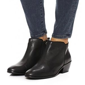 Sam Edelman black leather Petty boots sz 9.5
